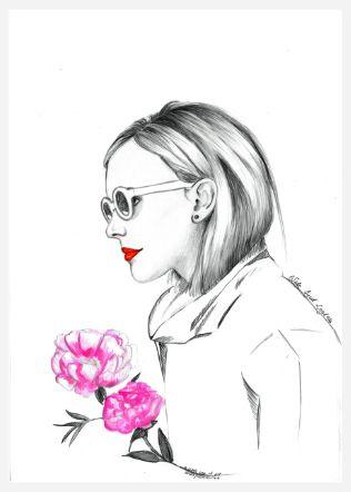 fashion illustration by Anna Piotrowicz, www.littlecupofart.pl