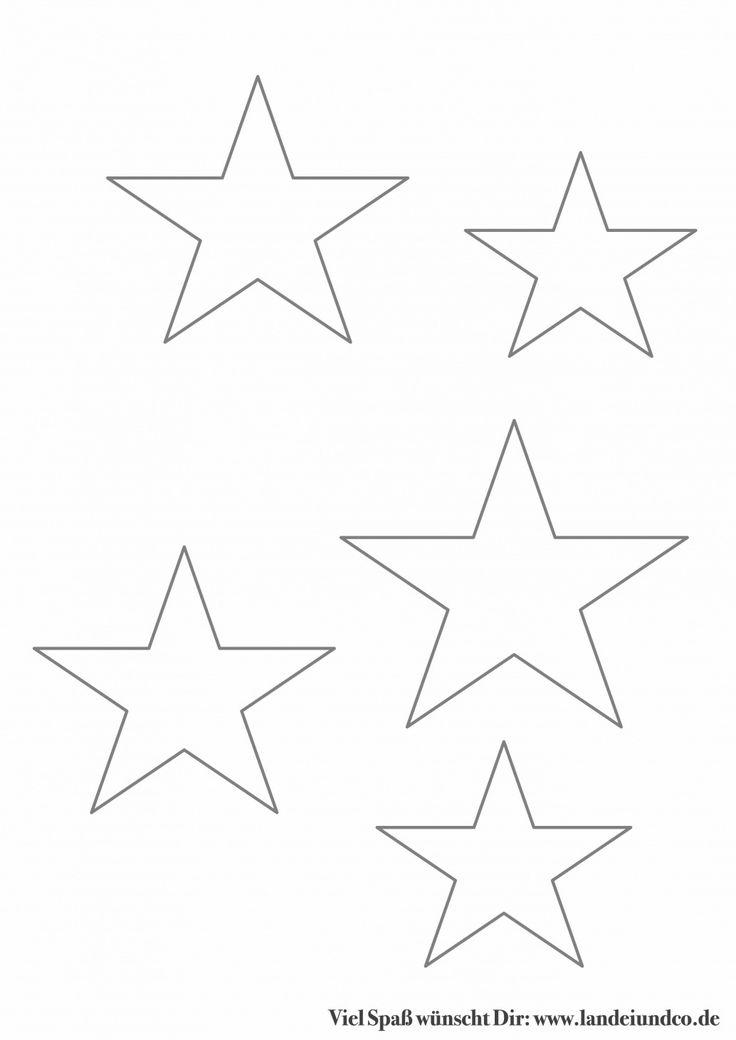 sterne ausschneiden vorlage fabelhaft sternenanhänger mit