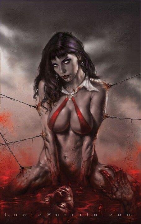 Vampirella by Lucio Parrillo
