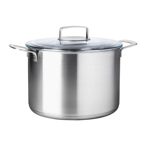 IKEA 365+ Stock pot with lid IKEA 15-year Limited Warranty. Read about the terms in the Limited Warranty brochure.
