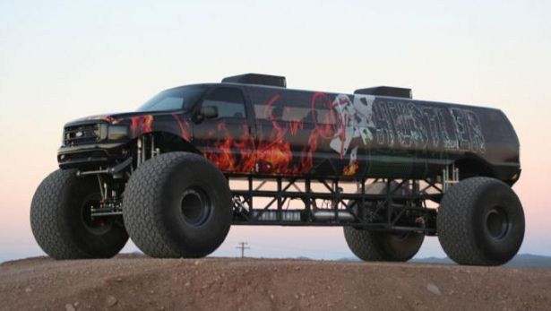 For sale: 12-seat, 700bhp monster truck - BBC Top Gear