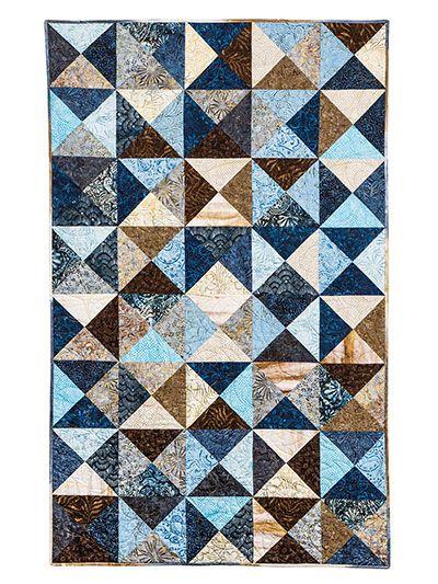 Quick Easy Beginners Quilt Pattern Broken Crackers Quilt