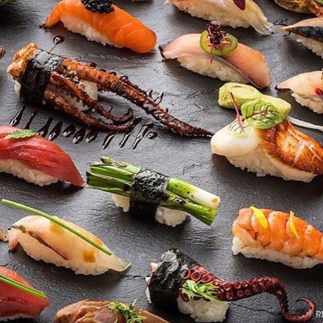 Fresh Sushi Platter. ✅ By - @chefantoniopark ✅  #ChefsOfInstagram