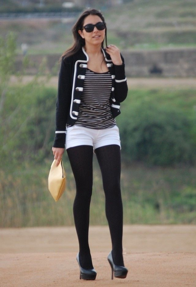 Fall 2013 Trend: Black and White Street Style Fashion