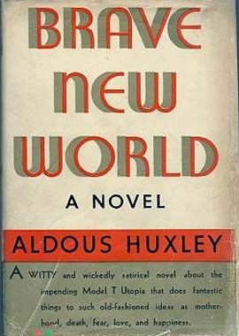 Brave New World by Aldous Huxley. I'm a nerd and I love sci-fi books about utopian societies and how it's impossible to achieve