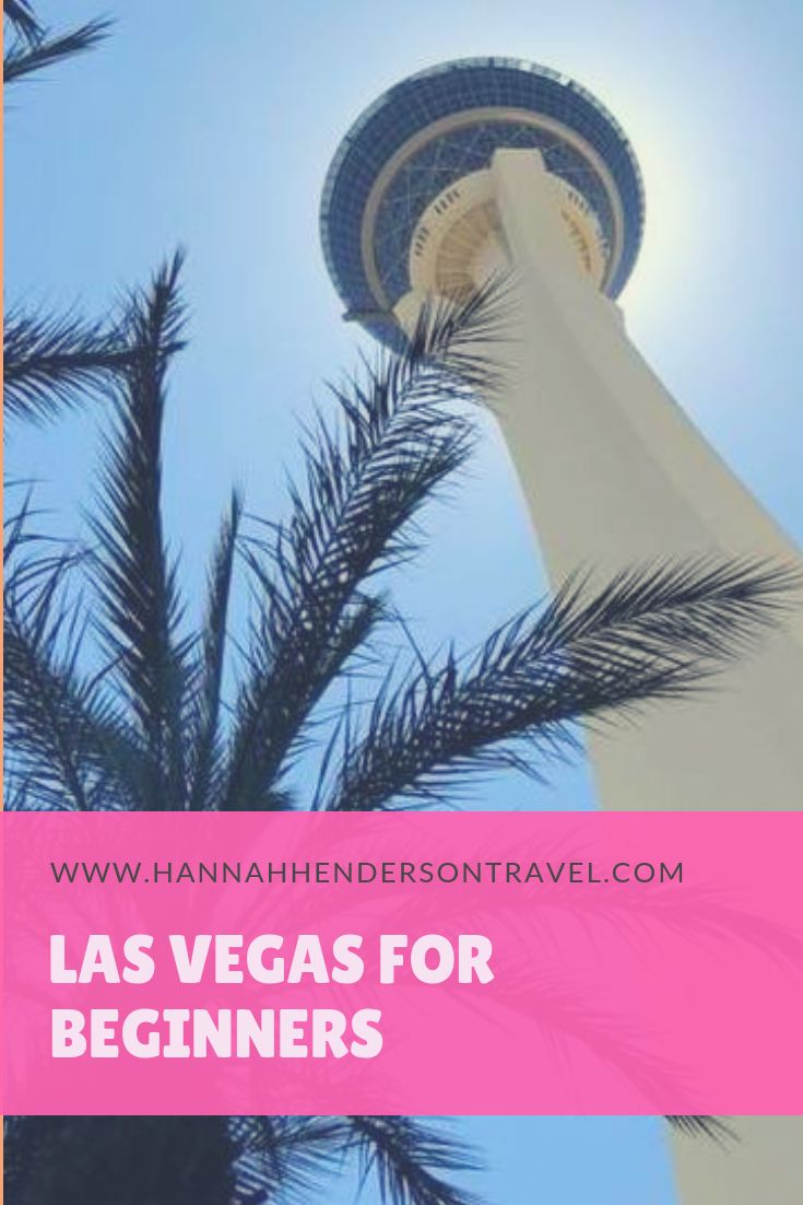Vegas For Beginners