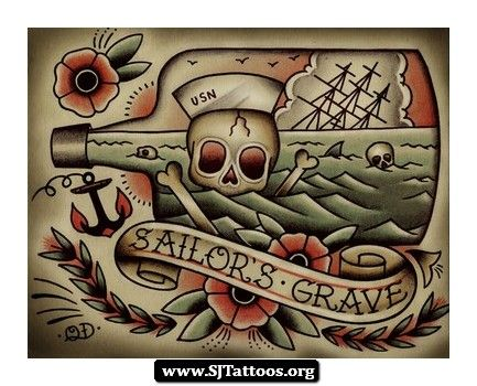 22 best images about tattoos on pinterest for Traditional navy tattoos