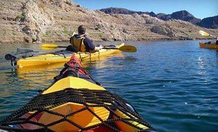 Groupon - Kayak Rental from Southwest Kayak Rentals at All Points of Sail Sailing School (Up to 51% Off) . Groupon deal price: $15.00