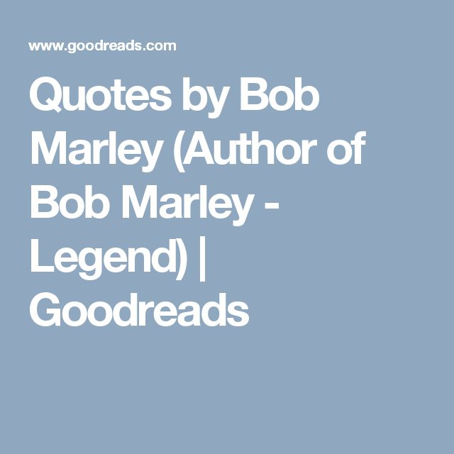 Bob Marley Quotes on Pinterest Lost hope quotes, Words about love ...