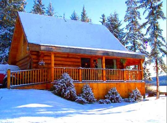 Our chalets build for year-round group accommodation or renting by the month in winter.