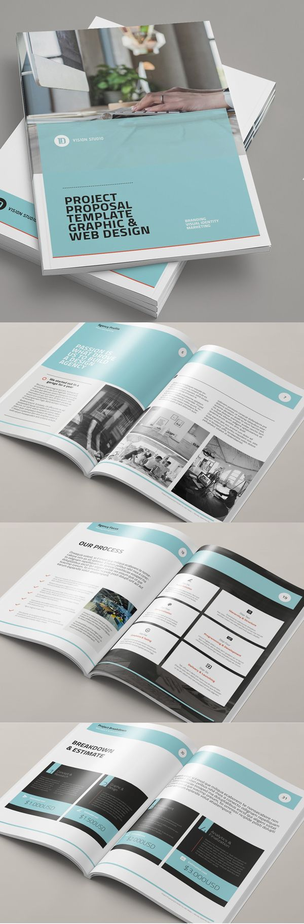 Project Proposal Template 61 best manuals images