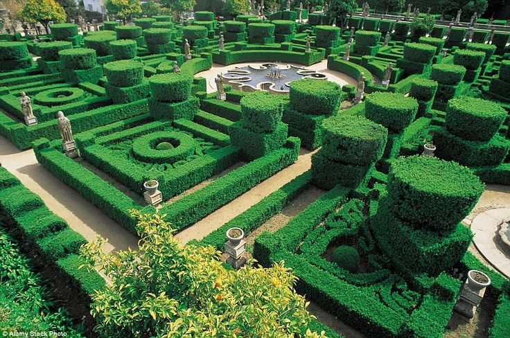 Bishop's Palace Garden, Portugal: The labyrinthine Castelo Branco garden is well worth getting lost in, with its stunning Baroque design