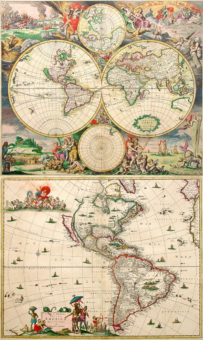 23 best Maps images on Pinterest Old maps, Antique maps and - best of background map of the world
