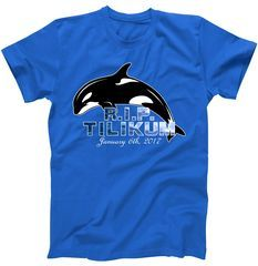 R.I.P. RIP Tilikum January 6th, 2017 Killer Whale Sea T-Shirt R.I.P. RIP Tilikum Who Passed Away on January 6th, 2017. This Famous Killer Whale lived a long life and brought amusement to many people. This Design is available on tons of unique styles and colors including t-shirts, hoodies, tanks, ladies, kids, mugs and more. Fast Shipping!
