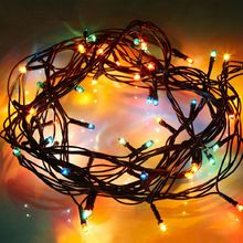 4.5 М Новые Елки Чистый Свет Шнура Рождественские Огни Новый Год Свадьба Церемония Рождественские Украшения ЕС Plug 220 В(China (Mainland))