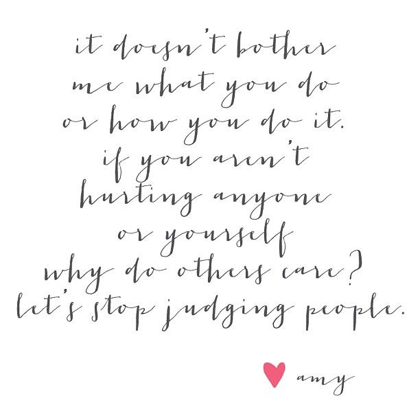 Stop Judging People #Quotes #WeddingChicks