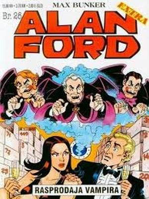 Alan Ford - Rasprodaja vampira  ( Extra 26 Ceo strip )