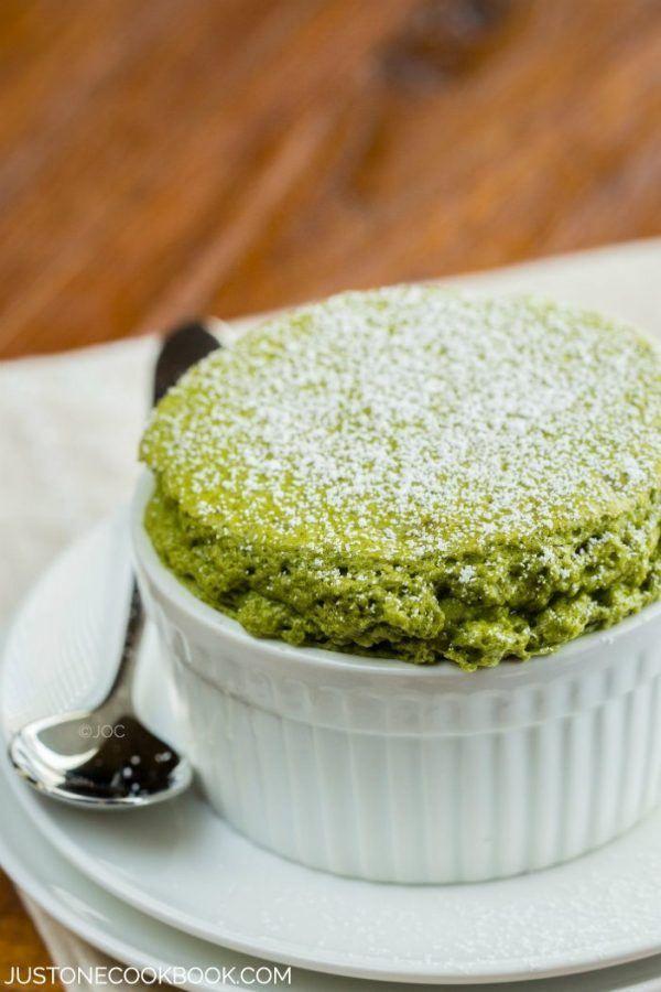Green Tea Souffle | Easy Japanese Recipes at JustOneCookbook.com