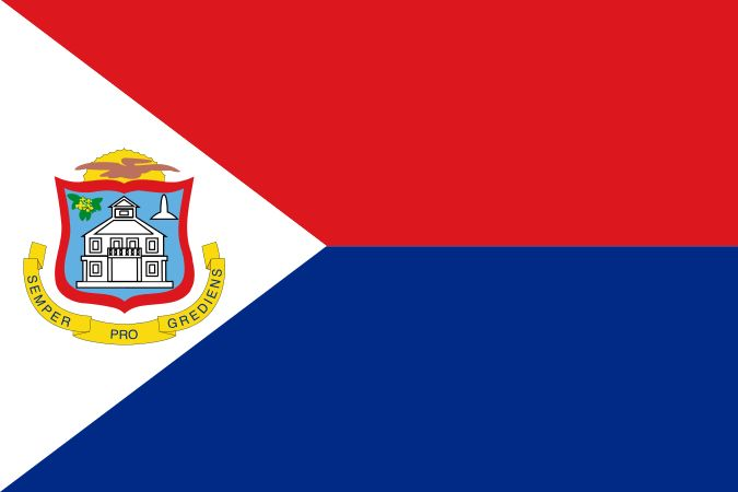 Flag of Sint Maarten - Sint Maarten - Wikipedia, the free encyclopedia