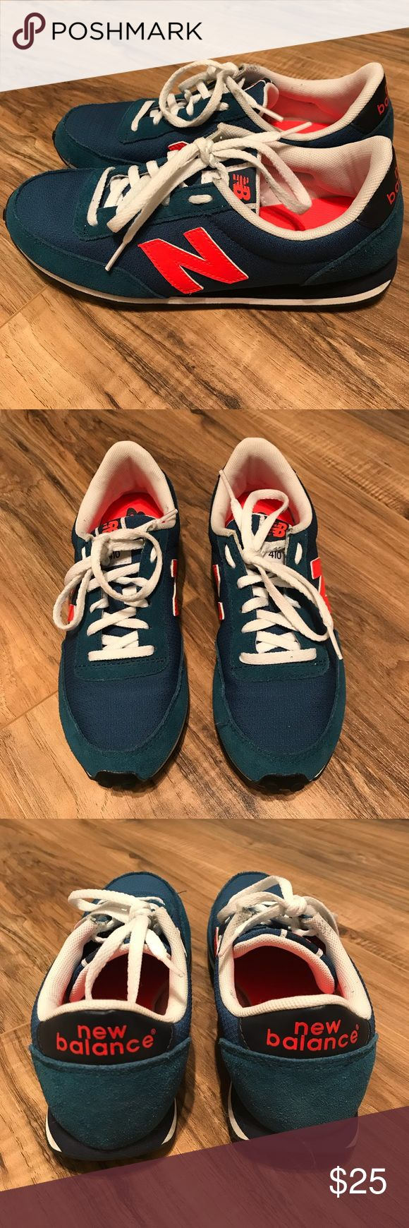 New Balance 410 gym shoes Used and good condition originally paid $60. Size 7 New Balance Shoes Sneakers