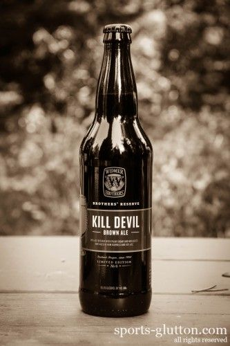 Love caramel and toffee from See's Candies?? Then you'll love this beer...Thirsty Thursday Widmer Bros. Kill Devil Brown Ale Review