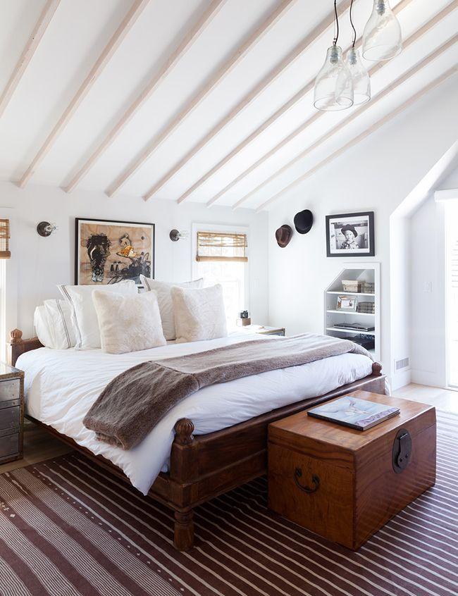 Ben Watts Montauk Cottage Bedroom -  Lonny July August 2013