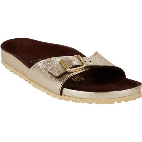 Birkenstock Metallic Madrid Sandals | Steps | Pinterest Sandals