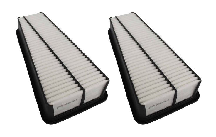 2 Panel Air Filters Fit Select Toyota Trucks | Part # A35578 & CA9683
