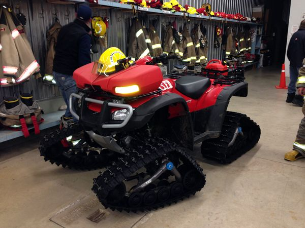 The 2014 Snowdrifter cash donation to the Sundridge Fire Dept. helped equip this unit.