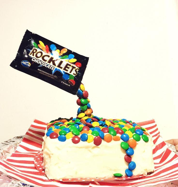 'Anti Gravity' cake for Missy's Birthday!