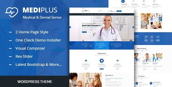Medi Plus - Health And Medical WordPress Theme - Health & Beauty Retail