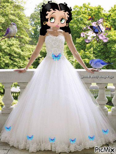 Betty Boop Bride
