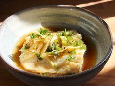 Filet de poisson vapeur-gingembre-ciboule-sauce de soja