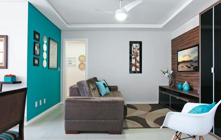 Filosofia de Interiores: Um toque azul turquesa na sua decoração