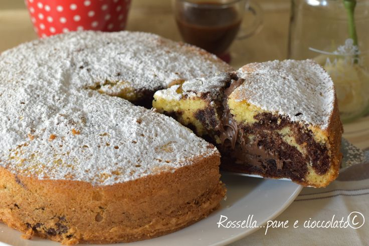 Torta+Variegata+Nutella+e+Caffe