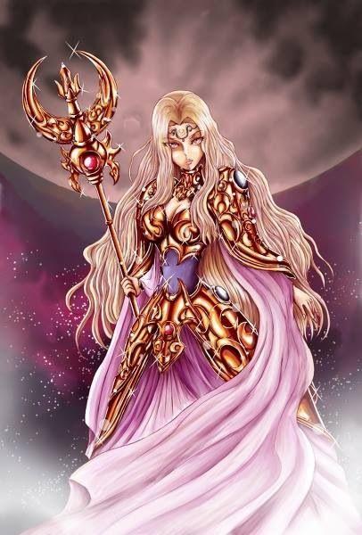 Artemisa, diosa de la Luna y de la cacería, hermana de Athena y de Apolo
