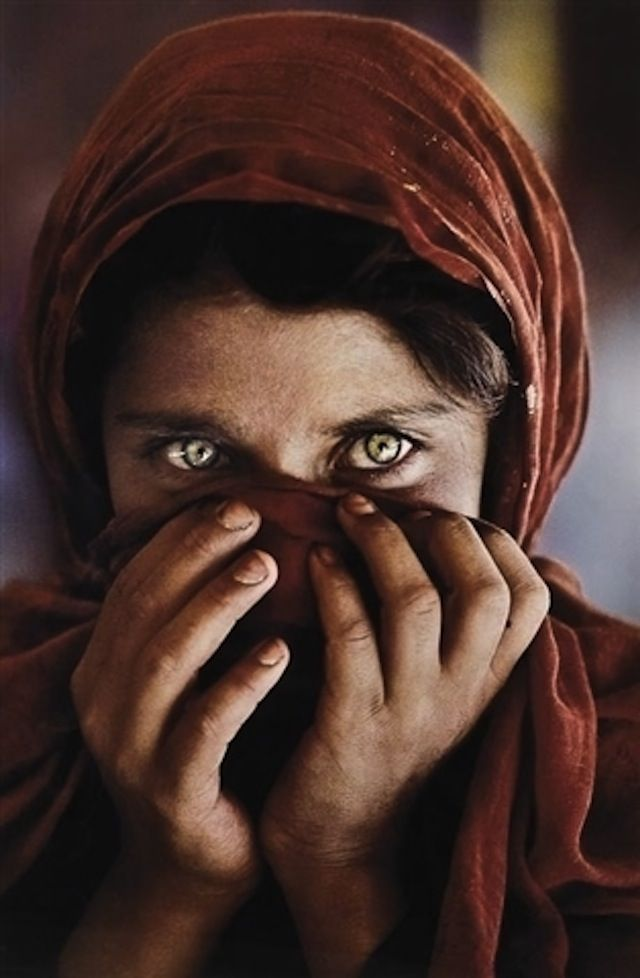 This is literally the picture that started my dream. It's my absolute favorite. Steve McCurry's famous photo, Afghan Girl
