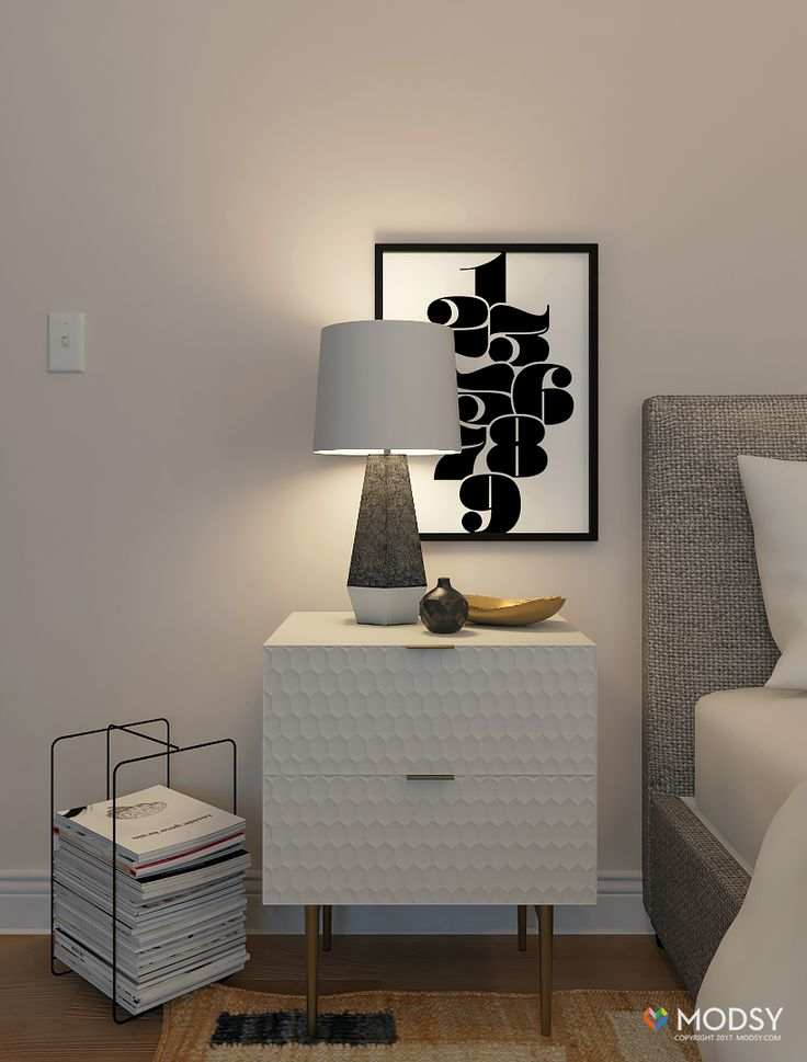 bedroom design ideas three ways to style your nightstand mid century