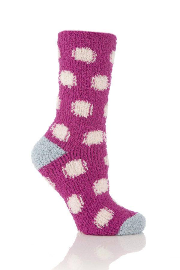 Pink Fizz Slumber Socks — PJ's and Prose