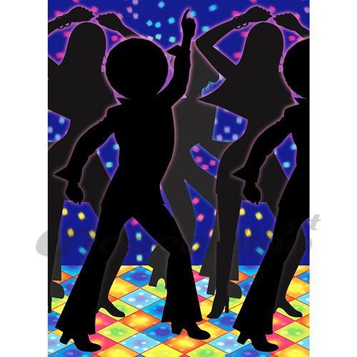 Cenario Discoteca e Bailarinos - MASCARILHA