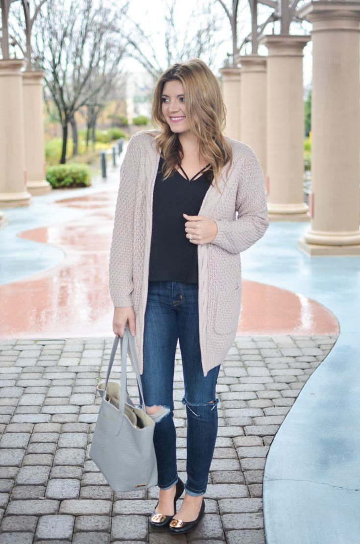 Fall Fashion Outfits Cardigan #trendy #outfit #casual #winter #winteroutfit #sty…