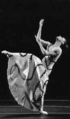 """Marha Graham grondlegger moderne dans.  """"Beweging kan nooit liegen"""". Contraction en release n Graham techniek."""