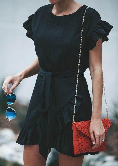 Style de rue de blogueur / robe d'été #fashion #womensfashion #streetstyle #ootd