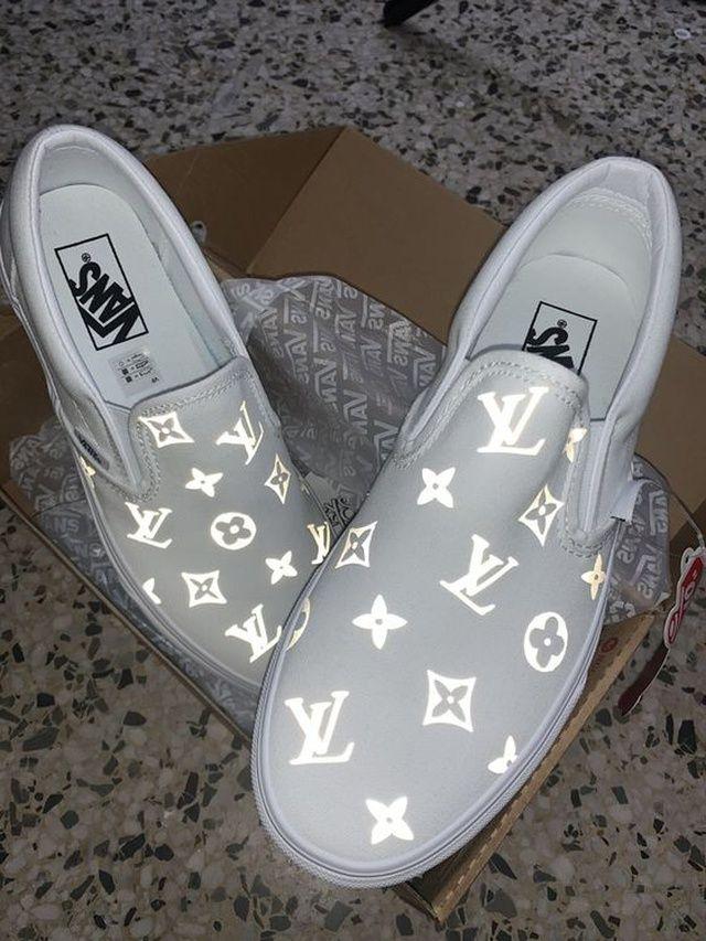 VANS LV REFELCTIVE in 2020   Vans shoes