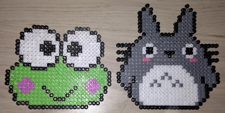 Keroppi és Totoro várják, hogy elkészítsd őket. :)   Rendelj elkészítésükhöz díszdobozos gyöngyöket! http://on.fb.me/1cc0O7O