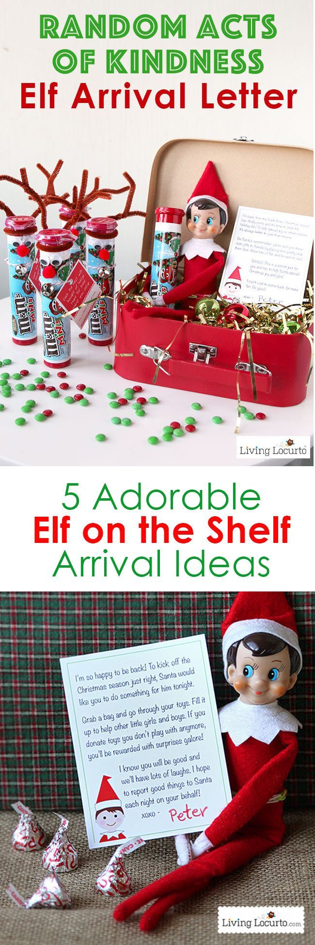 Creative Elf on the Shelf Arrival Ideas