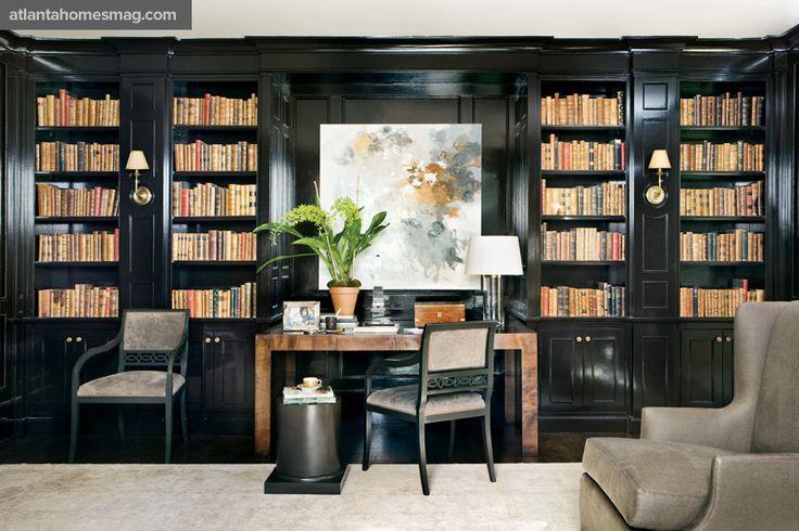 Furniture by Robert Brown for MacRae Designs. Photo by Erica George Dines.Via www.atlantahomesmag.com.
