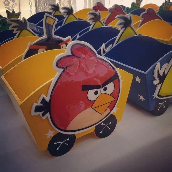 Vagoncitos de Angry Birds #mitely #recuerditos #fiestasinfantiles #angrybirds #partytime