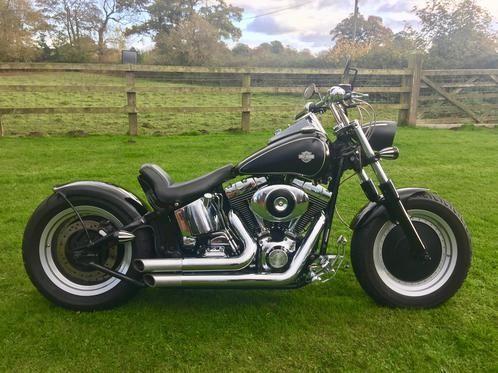 Harley Davidson Custom Softail Bobber Chopper #harleydavidsonfatboybobber