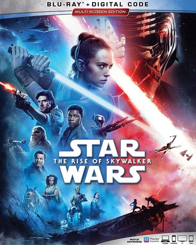 Star Wars Rise Of Skywalker Blu Ray Review Rotoscopers Star Wars Watch Star Wars Skywalker